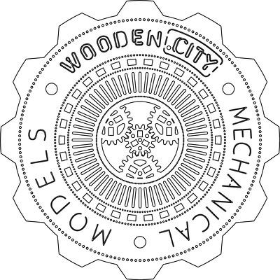 Wooden Сity. Механические модели для сборки из фанеры