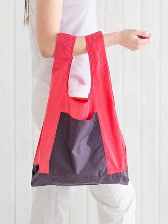 Сумка большая с карманом Розовый инжир Varika