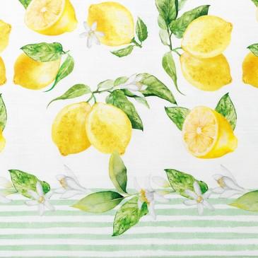 Скатерть Лимоны Этель
