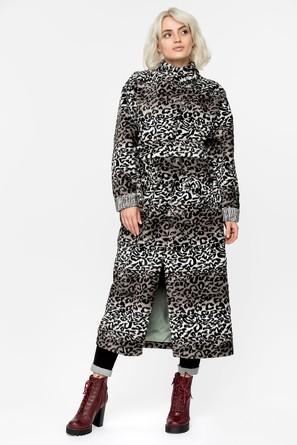 Пальто демисезонное с поясом Artwizard