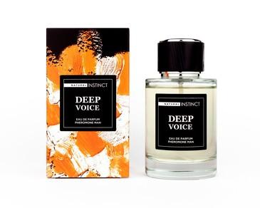 Парфюмерная вода с феромонами Deep Voice Natural Instinct