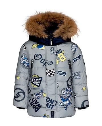 Пальто зимнее Большие гонки Gulliver