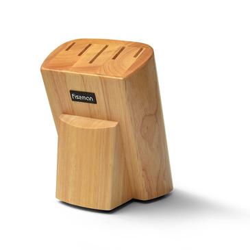 Подставка для кухонных ножей 13x17х21см Дерево Fissman