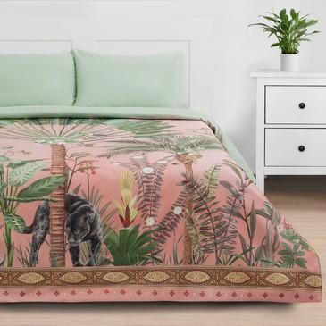 Комплект постельного белья Джунгли, мако-сатин Этель