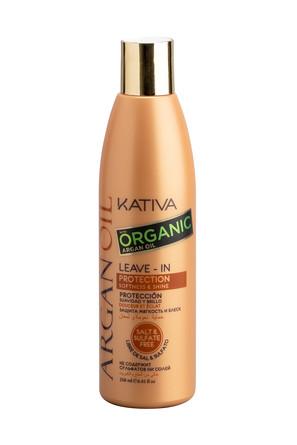 Несмываемый оживляющий концентрат для волос с маслом Арганы Argan oil, 250мл Kativa