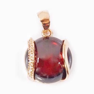 Кулон с гранатом Элана Lotus jewelry