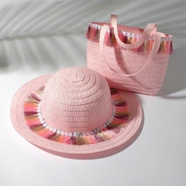 Набор (шляпа, сумочка) Minaku