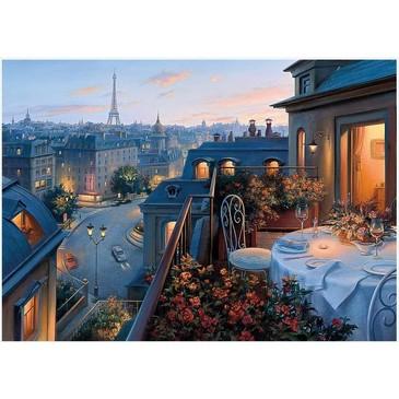 Картина по номерам. Ужин в Париже Paintboy