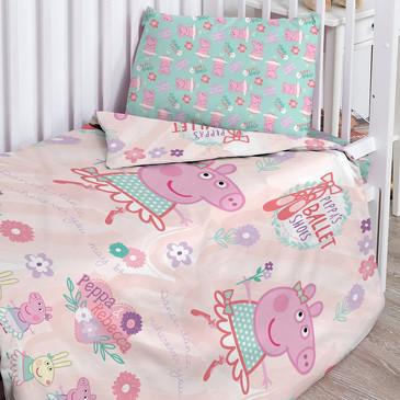 Комплект постельного белья Свинка Пеппа