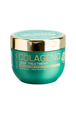 Интенсивный коллагеновый уход для всех типов волос Colageno, 250 мл Kativa
