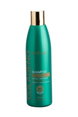Коллагеновый шампунь для всех типов волос Colageno, 250 мл Kativa