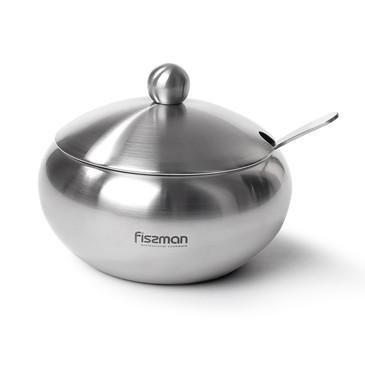 Сахарница со стальной крышкой Fissman