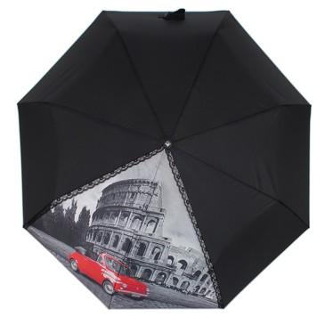 Зонт автомат 3 сложения Flioraj
