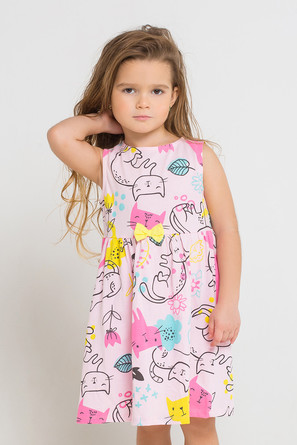Платье Котята Crockid