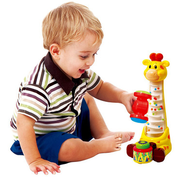 Развив. игрушка Забавный жираф PlayGo