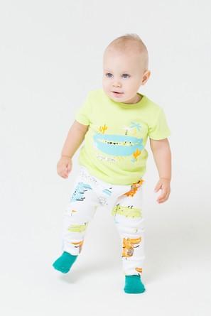 Комплект (футболка и штаны) Крокодилы Crockid