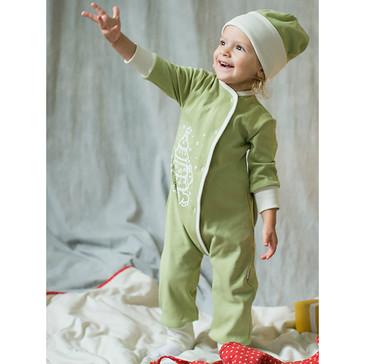 Пижама с шапкой