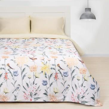 Комплект постельного белья Летнее утро, мако-сатин Этель