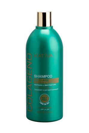 Коллагеновый шампунь для всех типов волос Colageno, 500 мл Kativa