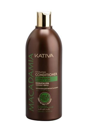 Интенсивно увлажняющий кондиционер для нормальных и поврежденных волос Macadamia, 500мл Kativa