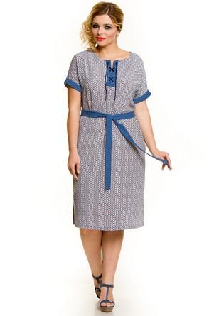 Платье короткий рукав Novita