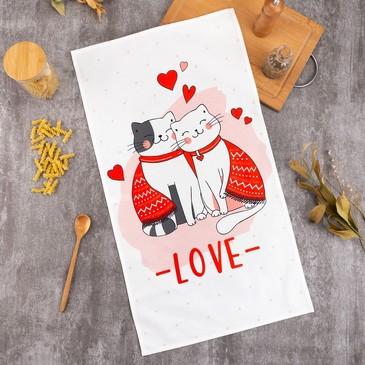 Полотенце Cat's love Этель