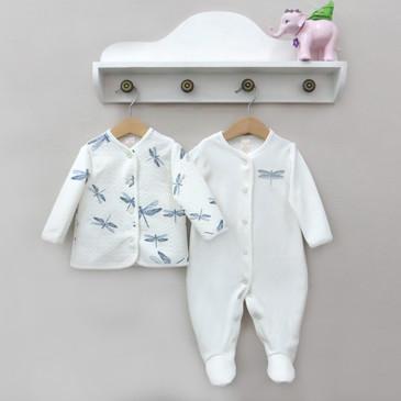 Комплект (комбинезон и кофта) Стрекоза Baby Boom
