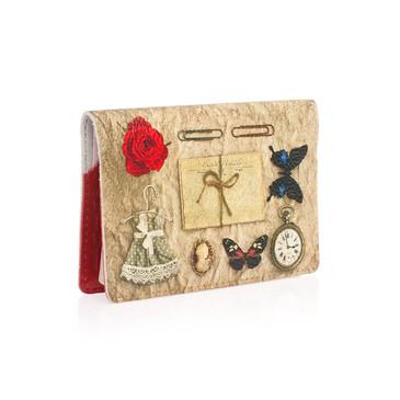 Обложка на паспорт Платьице с бабочкой Eshemoda