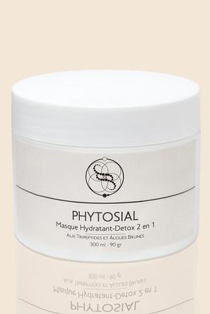 Маска для лица увлажнение и детокс 2 в 1 Masque Hydratant-Detox 2 en 1 Phytosial