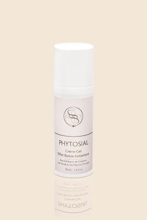Крем-гель мгновенный эффект ботокса Crème-Gel Effet Botox Instantané Phytosial