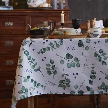 Скатерть Eucalyptus Доляна