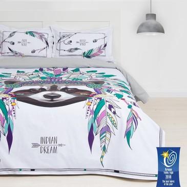Комплект постельного белья Indian style, ранфорс  Этель