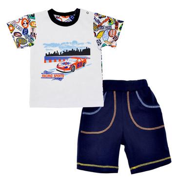 Комплект Весёлое лето (футболка и шорты) LEO