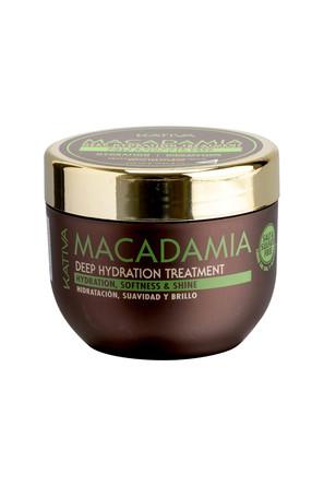 Интенсивно увлажняющий уход для нормальных и поврежденных волос с маслом макадамии Macadamia, 250мл