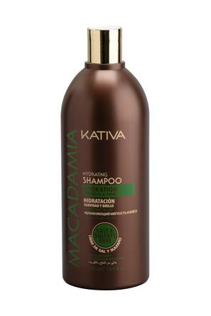 Интенсивно увлажняющий шампунь для нормальных и поврежденных волос Macadamia, 500мл Kativa