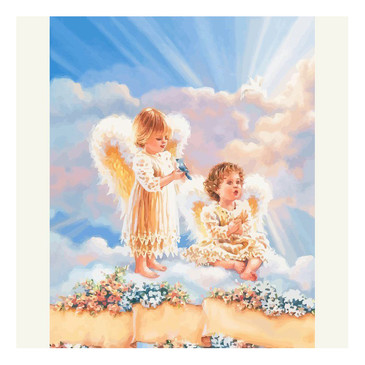 Картина по номерам. Ангелы любви Color Kit