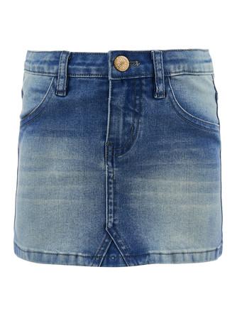 Юбка(джинс) Button Blue