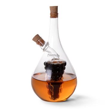 Бутылочка 50/500мл для масла и уксуса 2-в-1  Fissman