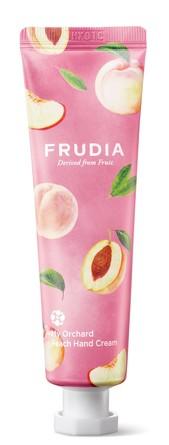 Крем для рук c персиком Squeeze Therapy Frudia
