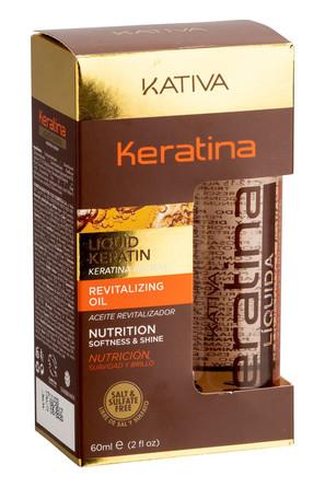 Жидкий кератин, 60 мл Kativa