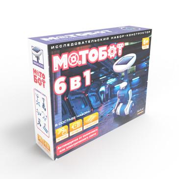 Конструктор Мотобот 6 в 1 ND Play
