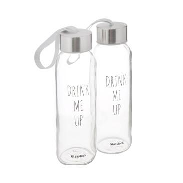 Бутылки дорожные (2х0,24 л) Glasslock