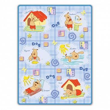 Одеяло байковое Собачкин день Baby Nice