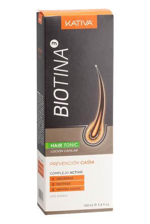 Тоник против выпадения волос с биотином 100мл Bionita Kativa