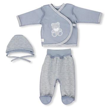 Комплект МиниМишки (кофточка, ползунки и шапочка) LEO