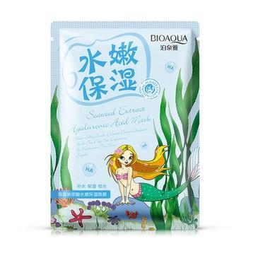 Омолаживающая маска с морскими водорослями Natural Extract (3 шт.) BioAqua