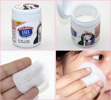 Влажные салфетки для снятия макияжа (100 шт.) BioAqua