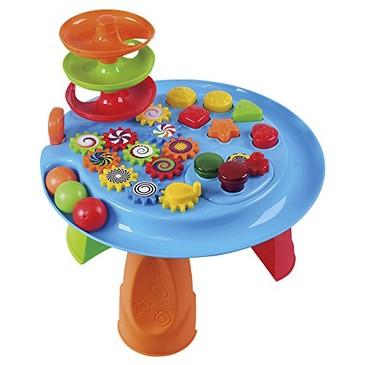 Игровой центр Cтол с шарами, формами и шестеренками PlayGo