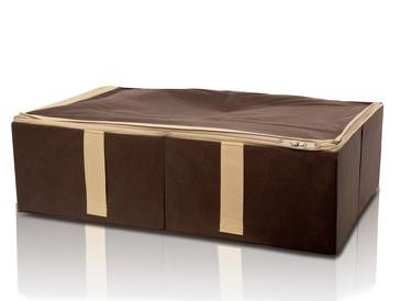 Ящик для хранения Chocolate Cake с крышкой на молнии Trendyco