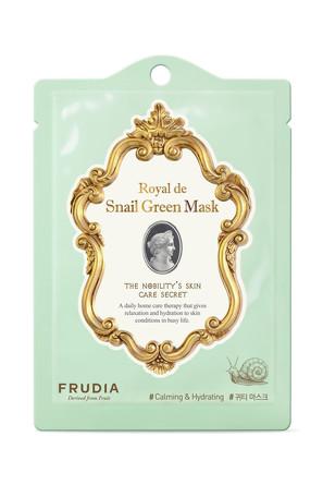 Набор (3 шт.) Омолаживающая маска с экстрактом улитки Frudia